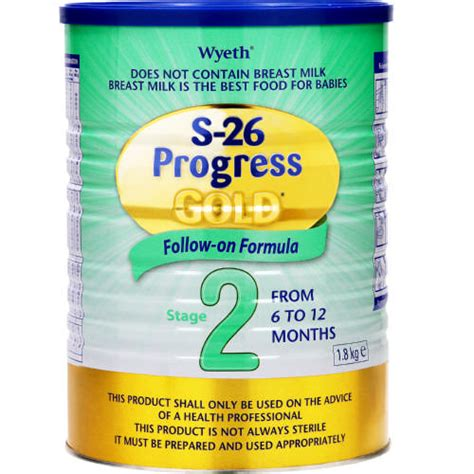 S26 Promil Gold 6 12 s 26 promil gold stage 2 follow on formula 1 8kg clicks