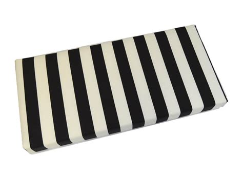 black and white bench cushion indoor outdoor black and white stripe cushion for bench