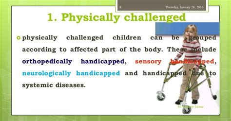 is my mentally challenged ppt on mentally challenged children or mental retardation