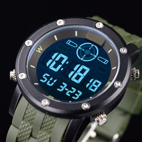 Infantry Mens Date Day Analog Wrist Vision Militaryfashion 2015 new infantry fashion s army lcd chronograph watches analog day date alarm digital wrist jpg