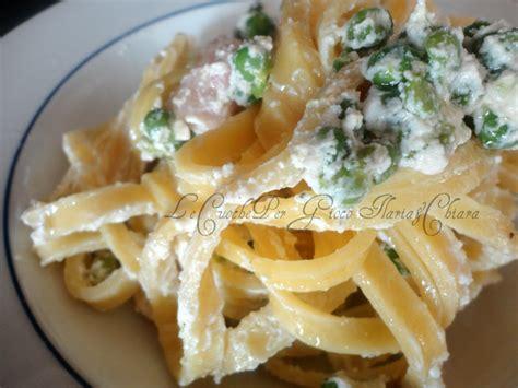 ricette con panna da cucina primi piatti pasta panna pancetta e piselli ricetta primi piatti
