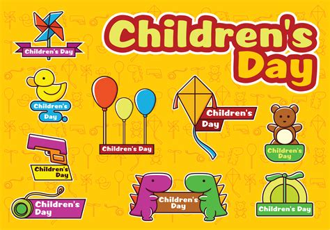 in s day happy children s day vectors free vector