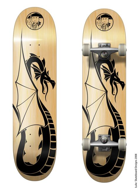 skateboard design 2 by dyreryft on deviantart