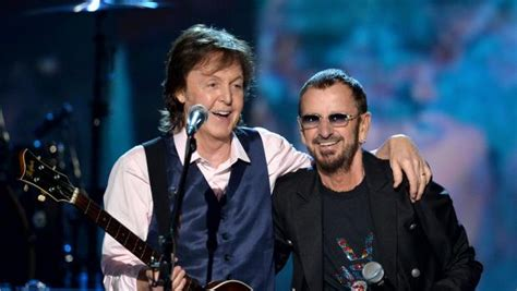 Grammy Of Fame Also Search For Paul Mccartney To Induct Ringo Into Rock And Roll Of Fame Cbs News