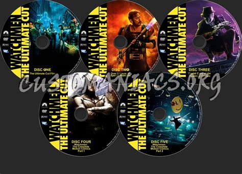 Watchmen The Ultimate Cut Dvd forum custom labels page 35 dvd covers labels by customaniacs