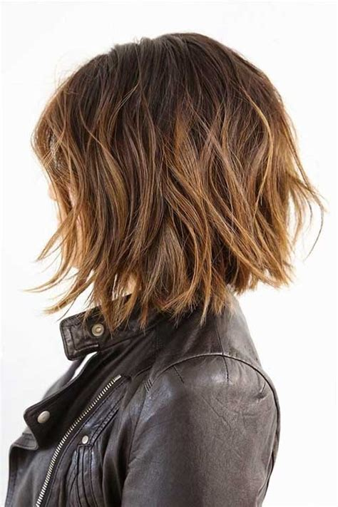 textured bob hairstyle photos 20 best layered bob hairstyles short hairstyles 2017