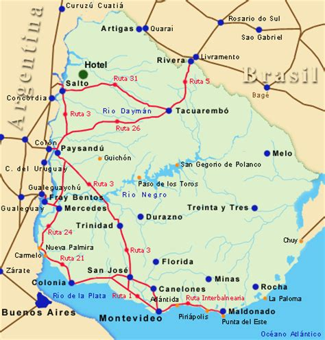 imagenes satelitales de salto uruguay ubicaci 243 n del hotel arapey oasis termal reserva de