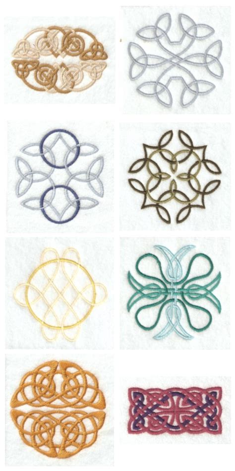 Knot Designs - celtic embroidery knots 171 embroidery origami