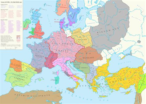 medieval europe poland middle ages map