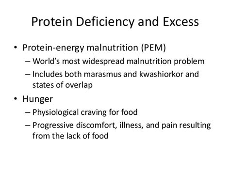 s protein deficiency symptoms proteins and amino acids