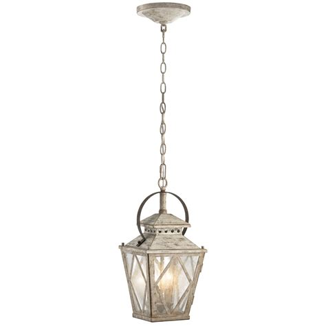Distressed Antique White Hayman Bay Single Tier Mini Chandelier With 4 Lights Walmart 53043258daw 1