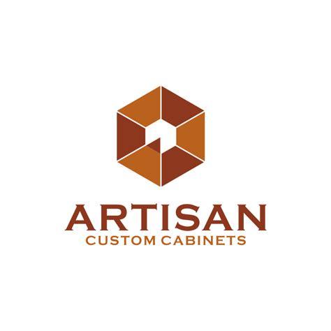 kitchen cabinet logo creative logo design for artisan custom cabinets