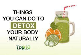 Top Ten Ways To Detox Your by Home Remedies For Detoxification Top 10 Home Remedies