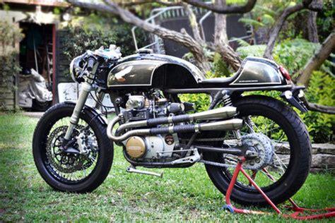 Jok Caferacer Untuk Honda Cb honda cb350 1969 bertang cafe racer otosia