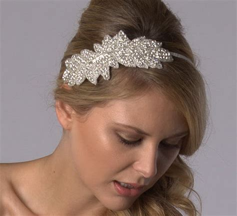 Wedding Hair With Band by Wedding Hair Band