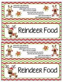 free christmas printables letter to santa reindeer food home reindeer food letter from santa and bag toppers