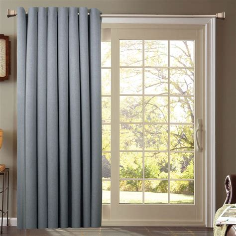 How To Install Curtains On Sliding Glass Door Curtain Grommet Drapes For Sliding Glass Doors