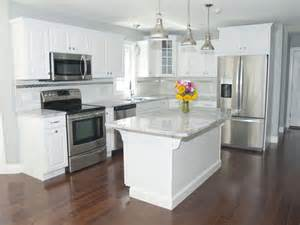 white kitchen cabinets stainless steel appliances 25 best ideas about stainless steel island on pinterest