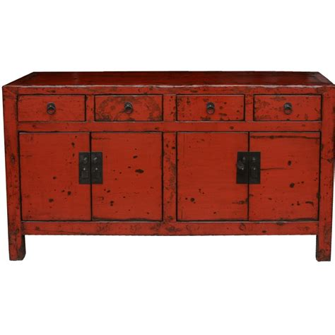 asian style sideboard blue patina chinese sideboard