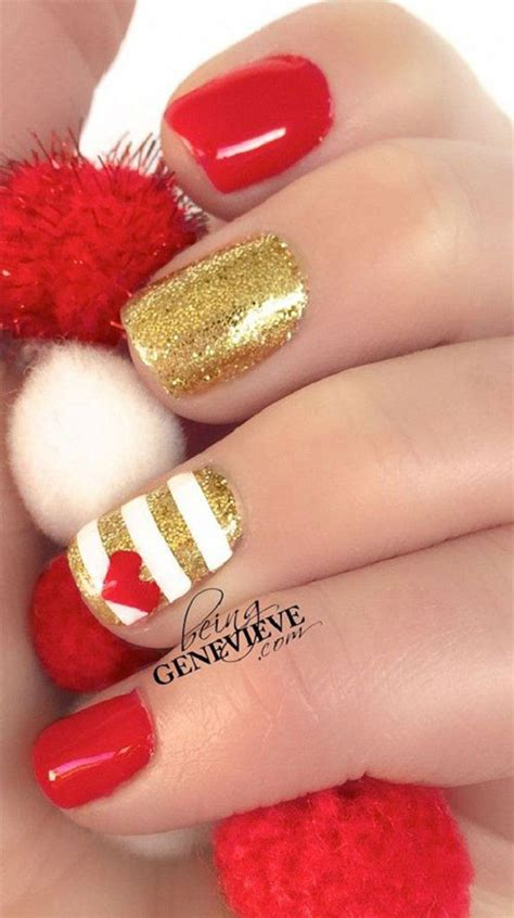 easy valentines nails 15 easy s day nail designs ideas