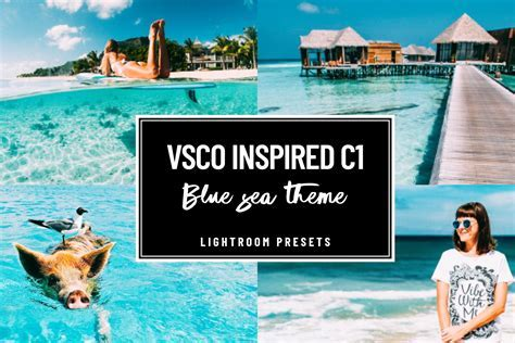VSCO C1 BLUE WATER SEA PRESET ~ Lightroom Presets