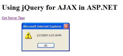 tutorial jquery ajax asp net using jquery for ajax in asp net ie421 博客园