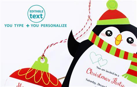 christmas invitation templates free editable editable printable gift tags new calendar template site