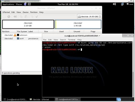 kali linux usb persistence tutorial kali linux on liveusb with working persistent partition