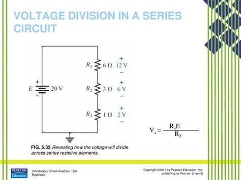 series resistors and voltage division ppt series dc circuits powerpoint presentation id 1782537