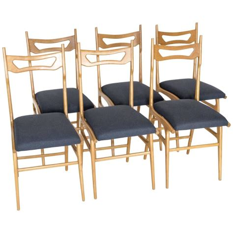 set of six italian dining chairs for sale at 1stdibs
