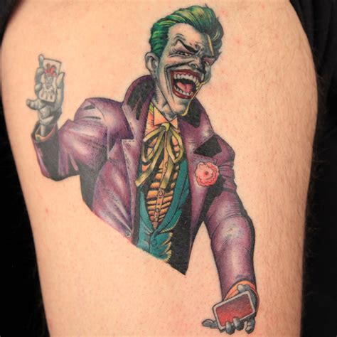 dc tattoos dc comics villains get tattooed on ink master including a