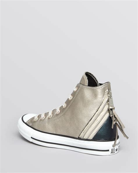 flat converse shoes 49g3ytqt buy converse flat lace up sneakers low top metallic