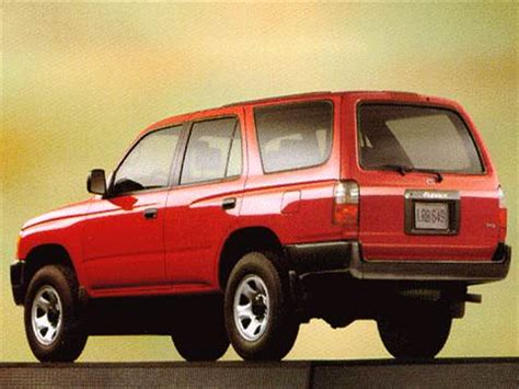 blue book used cars values 1992 toyota 4runner on board diagnostic system 1999 toyota 4runner pricing ratings reviews kelley blue book