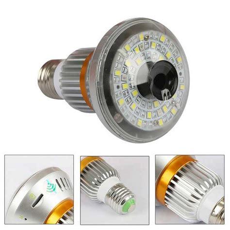 Kamera Cctv Ip Led Bulb Wifi Model Lu Wireless 1080p hd960p diy warm light bulb wireless ip gold silver free shipping dealextreme