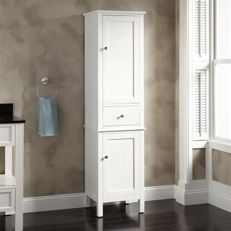 bathroom storage cabinet white southcrest linen storage cabinet bathroom
