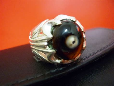 Gelang Batu Akik Cempaka Ikat Perak toko djadoel termahar cincin batu combong alami