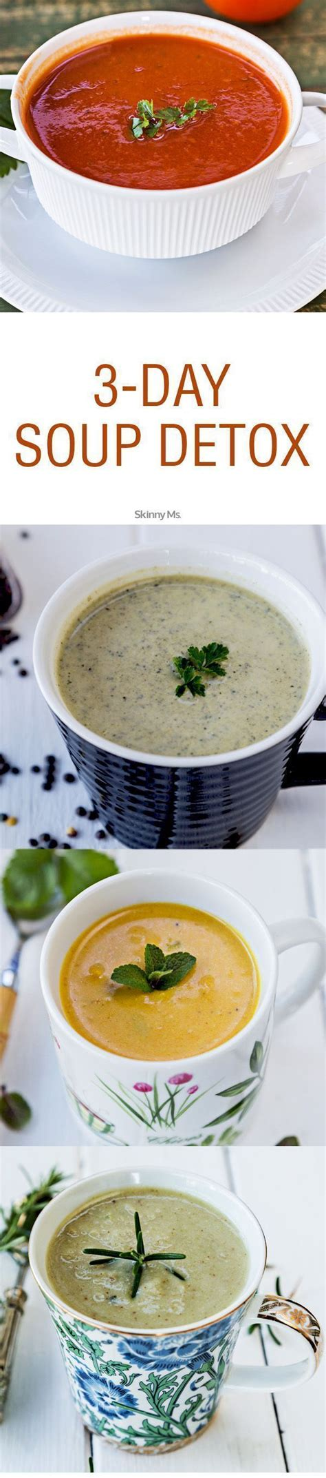 Cleansing Detox Soup Recipe by 3 Day Soup Detox Just Detoxify Your And
