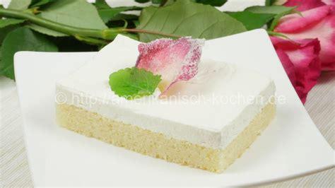 kuchen zum muttertag white cake vom blech i white cake tray bake i kuchen zum