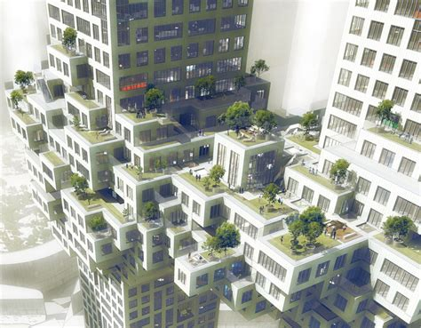 futuristic cloud city skyscraper could bring the dream of a n blog unveiled gt seoul cloud by mvrdv