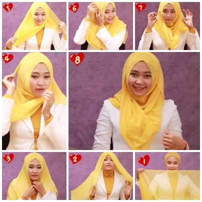 tutorial hijab paris pesta bisikan com tutorial hijab cara memakai jilbab paris segi empat