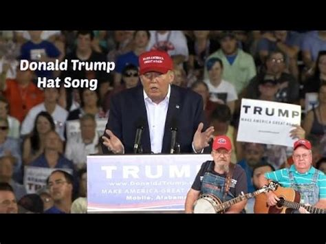 donald trump song donald trump hat song bluegrass youtube