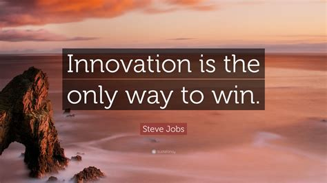 steve jobs quote innovation      win  wallpapers quotefancy