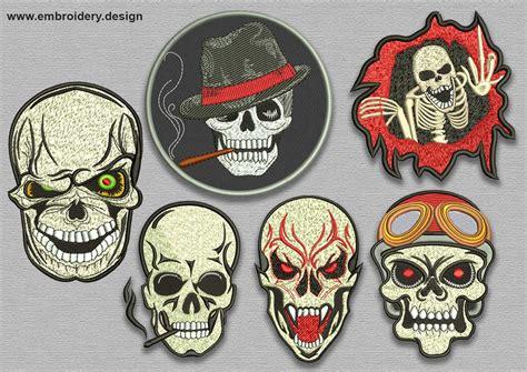 Evil Skull evil skull patches