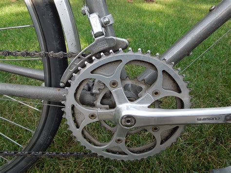 bike gear file half step plus granny crankset on a trek 620 touring