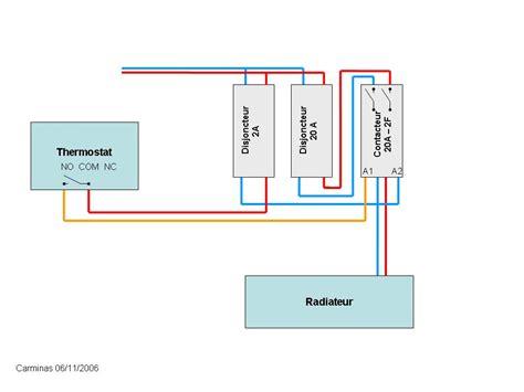 brancher un radiateur électrique 4951 radiateur 233 lectrique thermostat radiateur lectrique