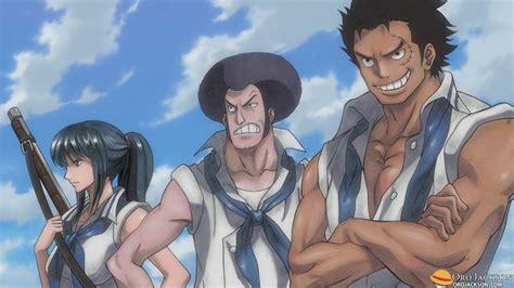 tsuru one piece wiki wikia the legendary marines in their youth garp sengoku and