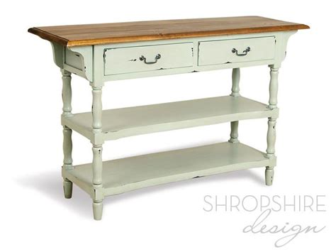 French Country Painted Console Table Shropshire Design Painted Sofa Tables