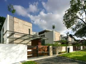 Spanish Villa Style Homes Small Tropical Houses Tropical Modern House Modern