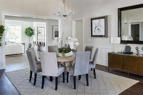 princess anne road transitional dining room los