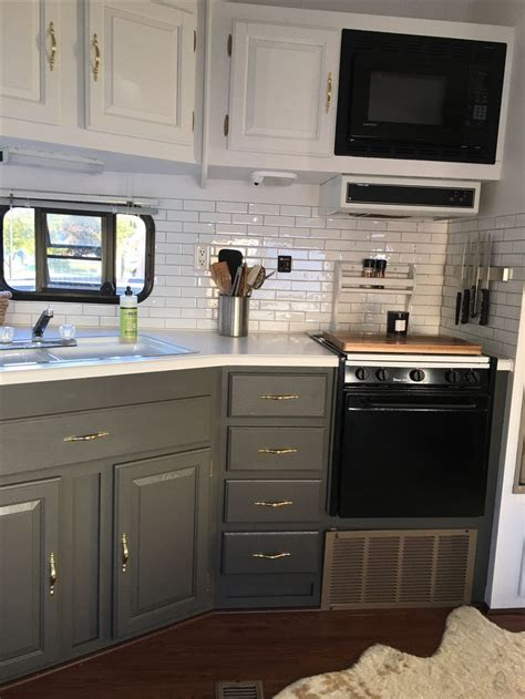 trailer kitchen cabinets best 25 cer renovation ideas on pinterest cer